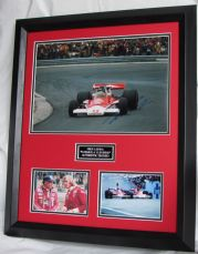 NIKI LAUDA SIGNED FORMULA 1 LEGEND AFTAL DEALER #199